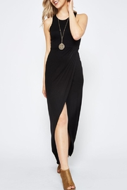 Wild Lilies Jewelry  Black Midi Dress - Product Mini Image