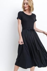 Les Amis Black Midi Dress - Product Mini Image