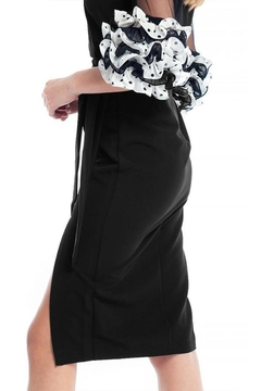 Gracia Black Midi Skirt - Alternate List Image