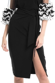 Gracia Black Midi Skirt - Product Mini Image