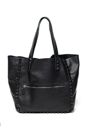 Laggo Black Miley Tote - Front cropped