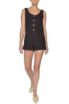 Whimsy and Row Black Mini Romper - Product List Image
