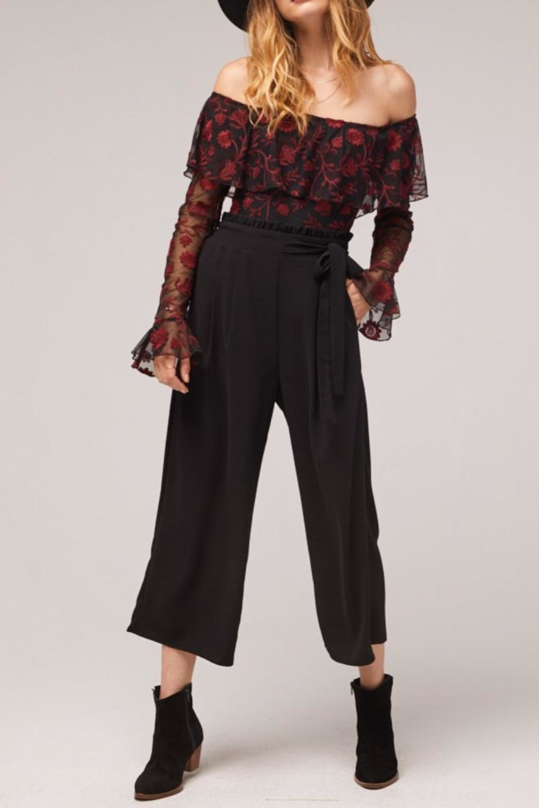 Band Of Gypsies Black Montana Pants - Main Image
