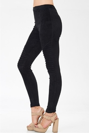 Venti 6 Black Moto Legging - Product Mini Image