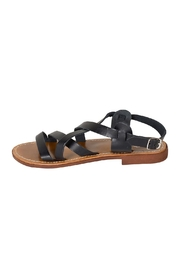 Lady Doc Black Multi-Strap Sandal - Product Mini Image