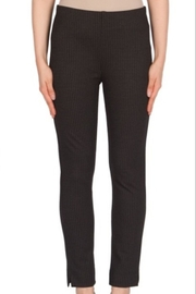 Joseph Ribkoff black narrow pin stripped pant - Product Mini Image