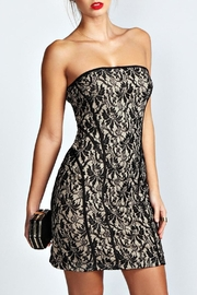 Adore Clothes & More Black Nude Dress - Product Mini Image