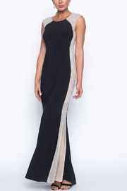 Frank Lyman Black Nude Full Length Evening Gown - Product Mini Image