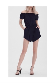HYFVE Black Off-Shoulder Romper - Product Mini Image