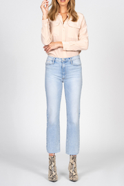 Black Orchid Denim BLACK ORCHID BROOKE STRAIGHT CROP JEAN - Front full body