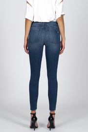 Black Orchid Denim BLACK ORCHID CARMEN HIGH RISE ANKLE FRAY JEAN - Back cropped
