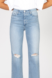 Black Orchid Denim BLACK ORCHID MARISA HIGH RISE STRAIGHT JEAN - Front full body