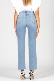 Black Orchid Denim BLACK ORCHID MARISA HIGH RISE STRAIGHT JEAN - Side cropped