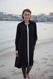 MORS Black Oversize Tunic - Product Mini Image