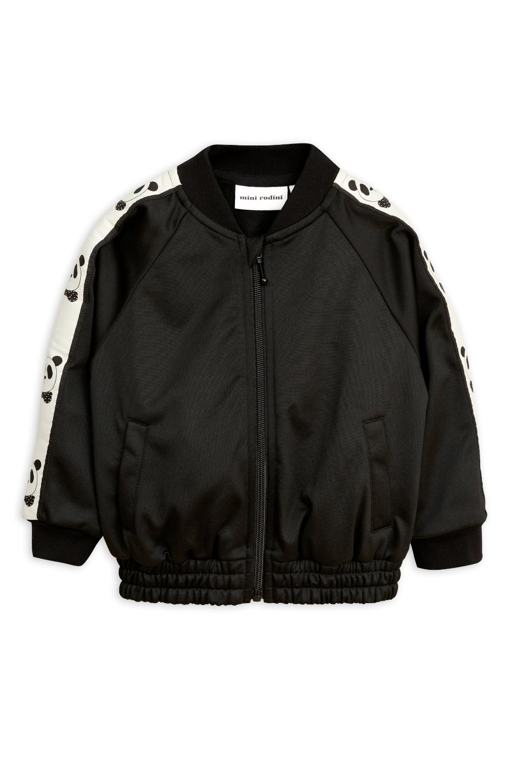 Mini Rodini Black Panda Jacket - Main Image