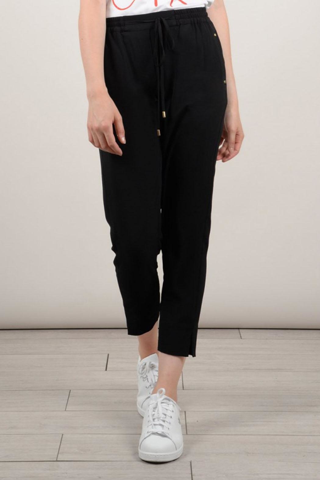 Molly Bracken Black Pants - Side Cropped Image
