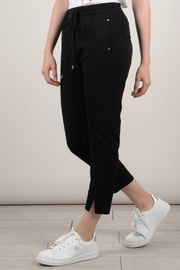 Molly Bracken Black Pants - Back cropped