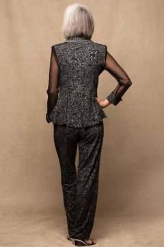 Design Today Black Pantsuit - Alternate List Image