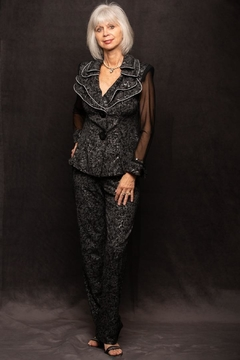 Design Today Black Pantsuit - Product List Image