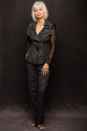 Design Today Black Pantsuit - Product Mini Image