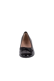 Pascucci Black Patent-Leather Ballerina - Side cropped