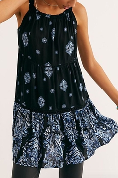 Shoptiques Product: Black Pattern Dress
