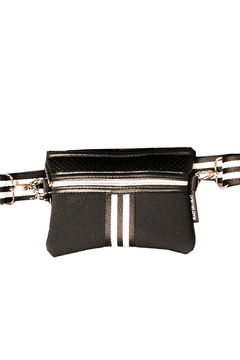 Shoptiques Product: Black Pearl Belt/Crossbody Bag