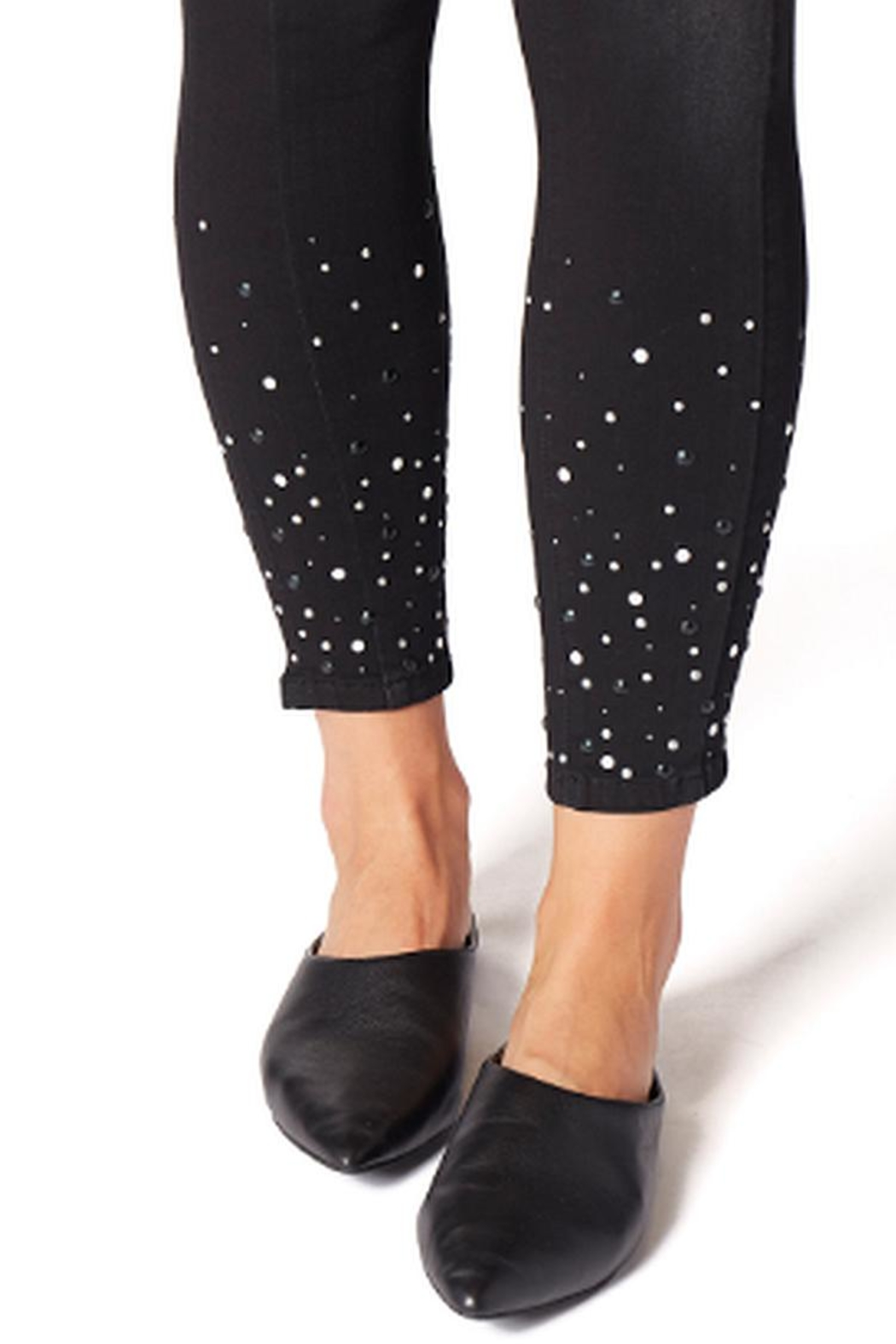 JAG Black Pearl Jeans - Back Cropped Image