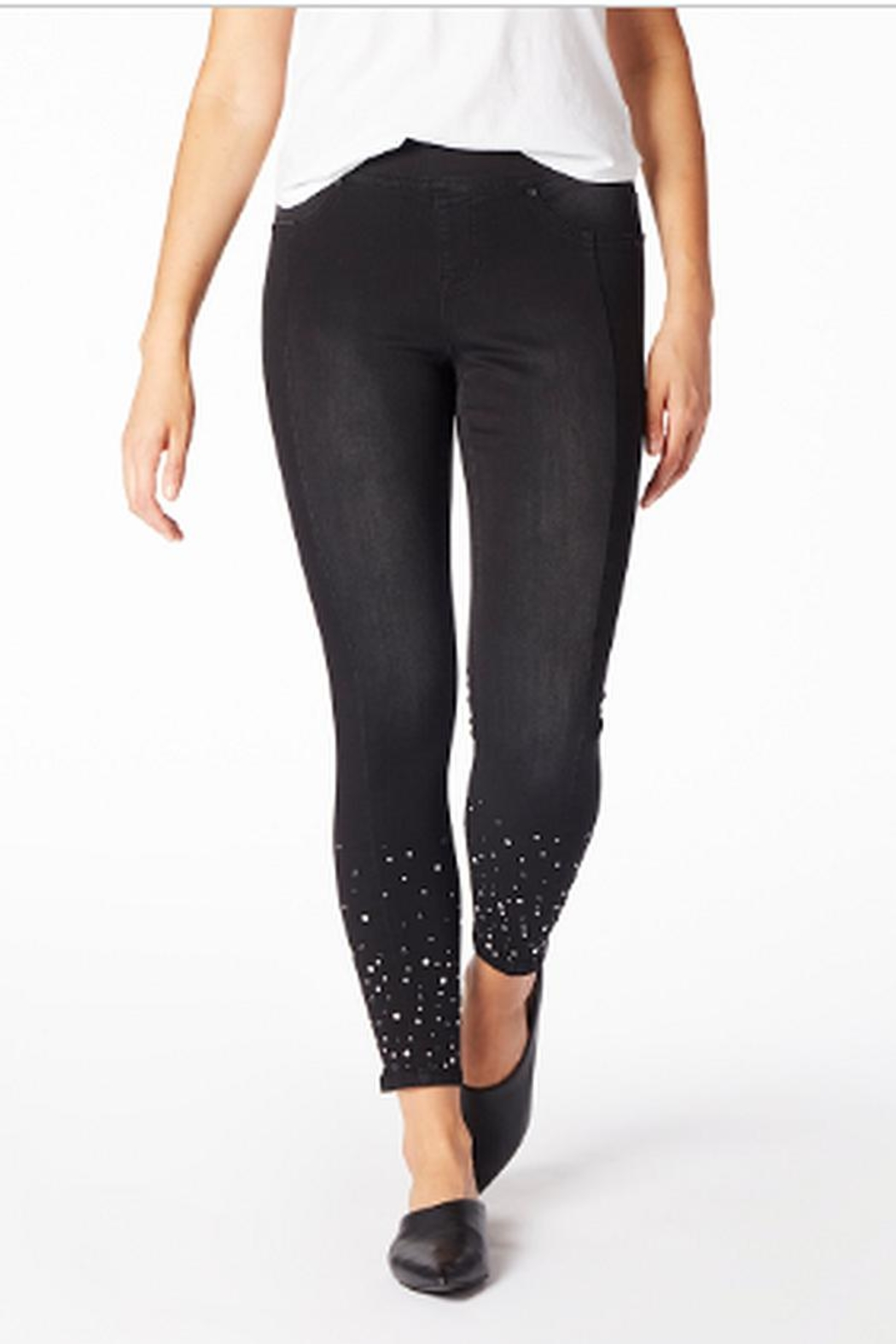 JAG Black Pearl Jeans - Front Cropped Image
