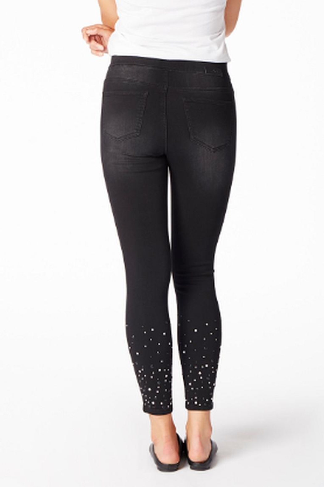 JAG Black Pearl Jeans - Side Cropped Image
