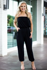 Piko  Black Jumpsuit - Front cropped