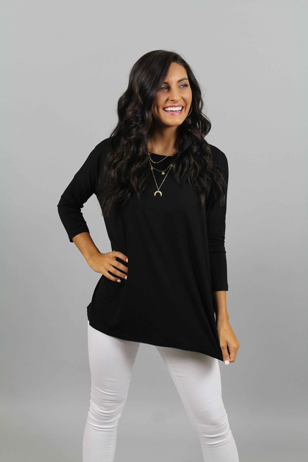 piko black top from north carolina by ivy and leo shoptiques