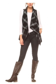 TCEC Black Plaid Vest - Product Mini Image