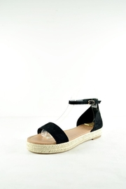 Bonne Bell Black Platform Sandles - Product Mini Image