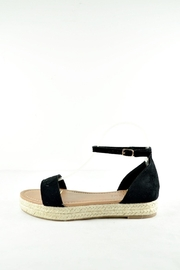 Bonne Bell Black Platform Sandles - Front full body
