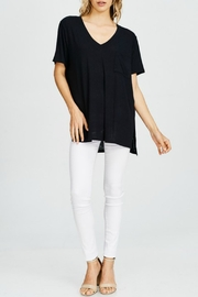 Cherish Black Pocket Top - Product Mini Image
