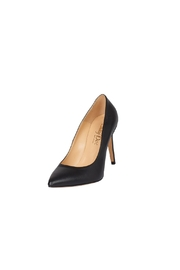 Lady Doc Black, Pointed-Toe, High-Heel - Front full body