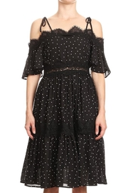 Ina Black Polka-Dot Lace - Product Mini Image
