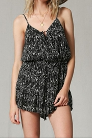 By Together Black Print Romper - Product Mini Image