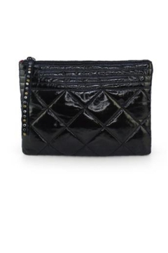 Shoptiques Product: Black Puffy Clutch
