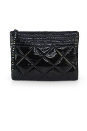 Allie & Chica Black Puffy Clutch - Product Mini Image
