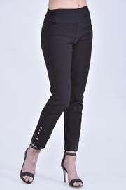 Ethyl Black Pullon Pant - Product Mini Image