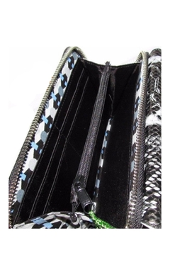 Vera Bradley Black/python Ultimate Wristlet - Alternate List Image