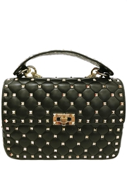 Leather Country Black Quilted Rockstuds - Product Mini Image