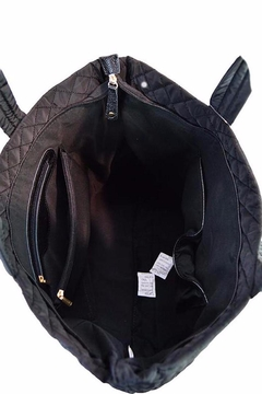 TIGERLILY Black Quilted Tote - Alternate List Image