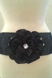 deannas black rhinestone belt - Product Mini Image