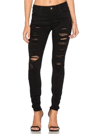 Joe's Jeans Black Ripped Jeans - Front cropped