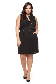 Dex Black Romper Dress - Product Mini Image