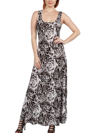 24/7 Comfort Apparel Black Rose Maxi - Product Mini Image