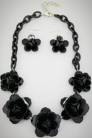 Embellish Black Rose Necklace - Product Mini Image